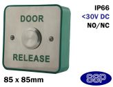 Prestige Stainless Steel Momentary Door Release Button