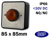 SSP Domed Emergency Stop Shut Off Button