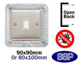 ClearSTOP Locking Cooker and Electric switch cover ideal for Alzheimers and Dementia Care Applications