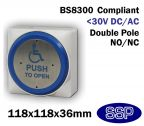 SSP Extra Large Momentary DDA Compliant Disabled Push to Open (Automated Doors) Button