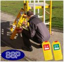 Podium steps safety tagging check book (25 duplicating check lists)