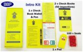 Podium steps safety tagging intro kit