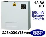 SSP 13.8 Volt 2 Amp DC Boxed Switch Mode Power Supply and Back-up Battery Housing
