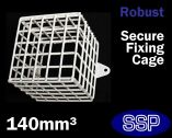 SSP White Sounder Cage | PIR Cage | Beacon Cage 14cm