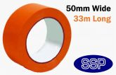 Self Adhesive Hazard Tape 50mm Red - Danger | Prohibition