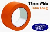 Self Adhesive Hazard Tape 75mm Red - Danger | Prohibition