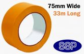 Self Adhesive Hazard Tape 75mm Orange - Chemical Storage