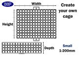Design Your Own Custom Made Protective Cage (Up to 200mm) Small
