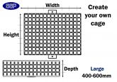 Design Your Own Custom Made Protective Cage (Up to 600mm) Large