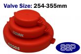 Wheel Valve | Gate Valve Encapsulating Lockout Cover (Extra Large)