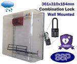 Outdoor Combination Lock AED Defibrillator Defender Cabinet