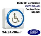 SSP Large Momentary DDA Compliant Disabled Symbol Button