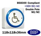SSP Extra Large Momentary DDA Compliant Disabled Symbol Button