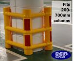 Universal Column Protection Barrier for 200mm to 700mm wide Pillars