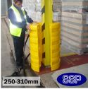 Large Column Protector Guard to fit 250mm to 310mm Uprights and I Beams