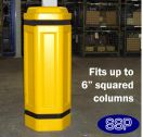SSP Column Bump Impact Protector Cushion (6 inch|150mm)