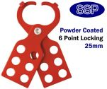 Standard Lockout Tagout Hasp (25mm Jaw Size)