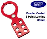 Standard Lockout Tagout Hasp (38mm Jaw Size)