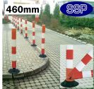 SSP Car Park and Private Road Self-Righting Flexible Traffic Post (46cm)