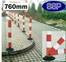 SSP Car Park and Private Road Self-Righting Flexible Traffic Post (76cm)