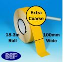 Extra Course Anti-Slip Tape (Yellow) 18.3metres x 100mm (402H)