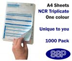Personalised Duplicating NCR Permits to Work (A4 in Triplicate) 1000 Permits