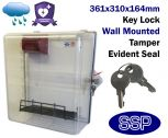 Key Locking Defibrillator Defender with break seal AED cabinet