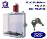 Key Locking Internal Defibrillator Defender with Alarm Outside