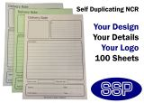 Self-duplicating Personalised Delivery Notes (A5) 100 NCR Sheets