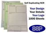 Self-duplicating Design You Own Delivery Notes (A5) 1000 NCR Sheets