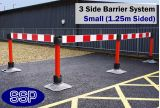 SSP Temporary Road Works Reflective Barrier System (Small) 3 Sides
