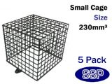 CCTV Camera Enclosures | Security camera Cages (5 Pack) 23cm