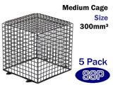 Surveillance camera Cage | CCTV Kit Cages (5 pack) 30cm