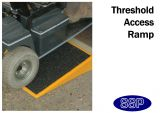 Disabled Access Wheelchair Ramp with wedge shape (100mm high)