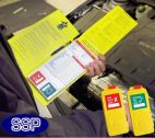 Excavators Inspection Tagging Check Book 25 Self Duplicating Sheets