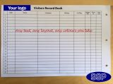 Extra pages for your previously order Personalised Visitor Record Book (VRB-01)