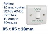 Light Switch Style Door Release Button