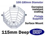 Smoke Detector Protective cover Surface Mounted Cage C9605