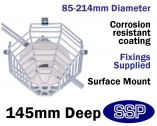 Smoke Detector Protector Surface Mounted Cage C9610