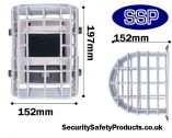 Beam Type Smoke Detector Protector Cage C9623/B