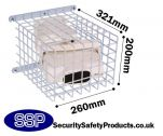 Beam Type Smoke Detector Protector Cage C9625