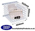 Beam Type Smoke Detector Protector Cage C9627
