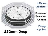 Clock or Bell Protective Cage C9632