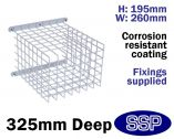 CCTV Cage | Security Light Cage C9625/B Narrow/Deep