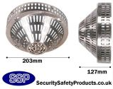 Stainless Steel Smoke Detector Cage Surface Mounted C8230-SS