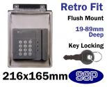 Keypad Cover with Key Lock K500V