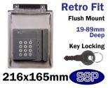 Keypad Cover with Key Lock K500V