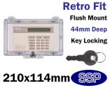 Keypad Cover with key lock (Clear) K6560