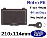 Dark Controller Cover with key lock K6560/S