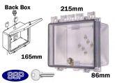 Key Lock Enclosure with deep back box K500A